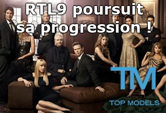 RTL9 poursuit sa progression